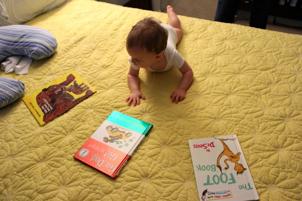 Choosing a book for storytime
