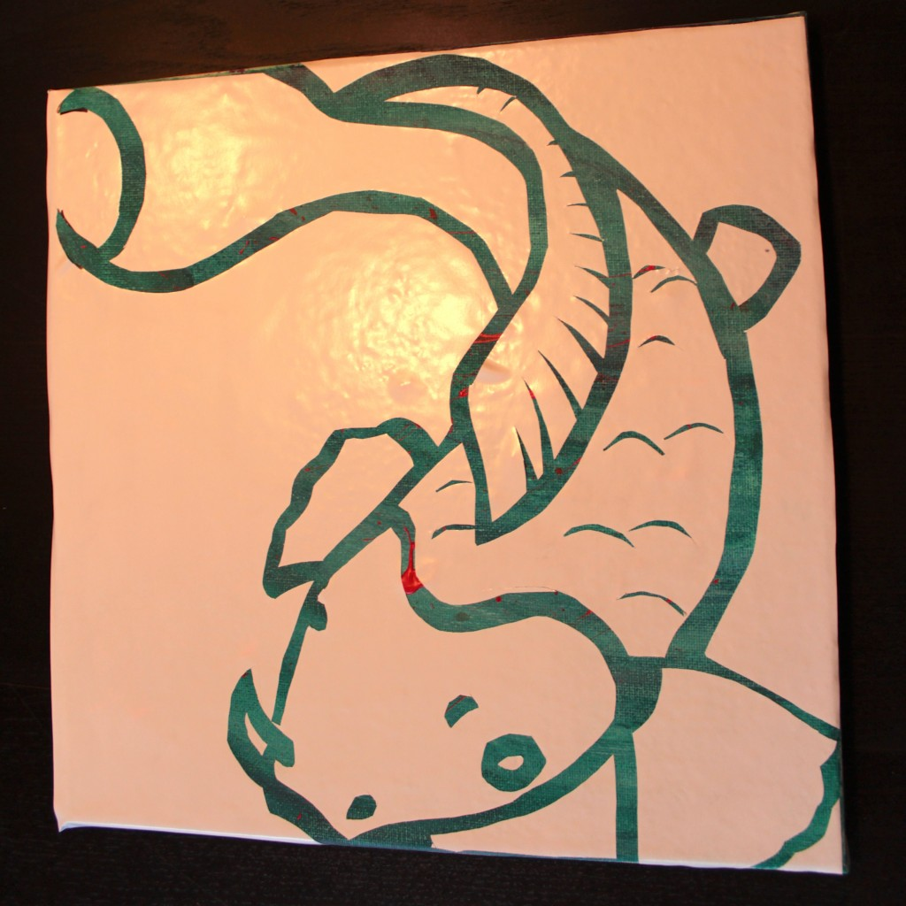 Fish Art Tutorial Vinyl Cut Out